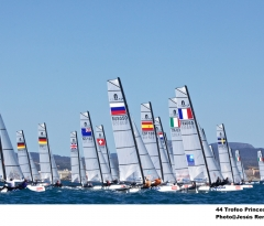 Nacra 17 Event Quota increased to 70 boats